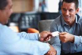 01. Successfull business men shaking hands